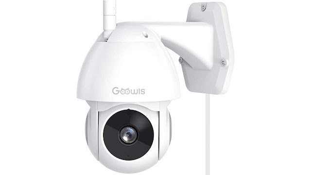 Goowls Outdoor Night Vision Security Camera