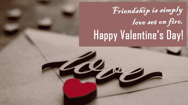 valentine wishes for friend