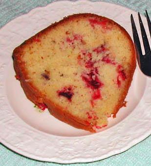 Cranberry Relish Coffee Cake