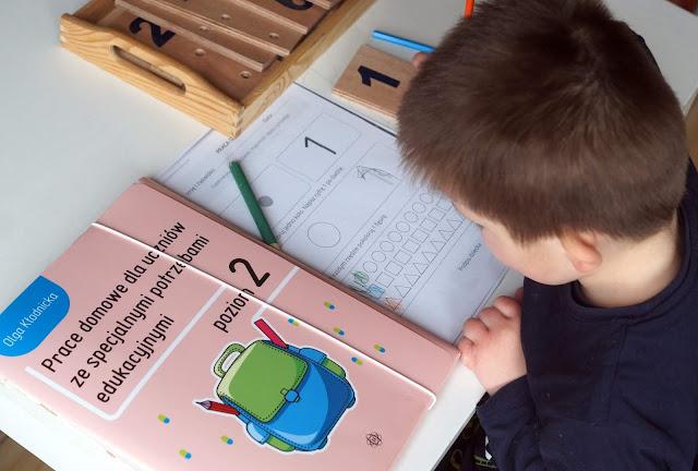 Prace domowe dla uczniów ze specjalnymi potrzebami poziom 2
