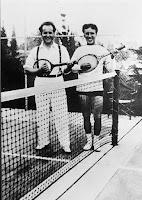 Sergei Eisenstein con Chaplin