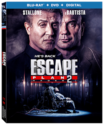 Escape Plan 2 Hades 2018 Eng 720p BRRip 700Mb ESub x264
