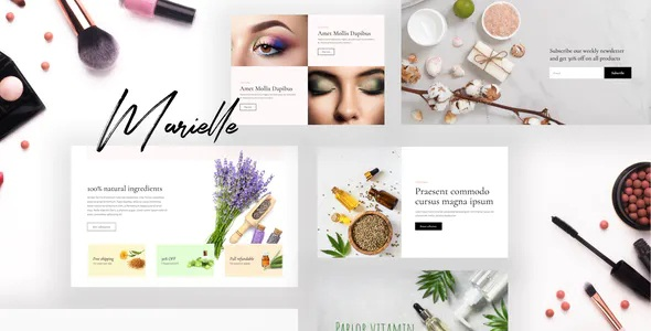 Best Cosmetics and Beauty Shop Template Kits