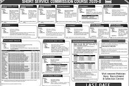 Join Pakistan Navy 2020/B Short Service Commission SSC Online Registration