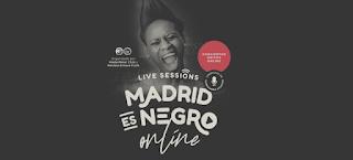 Ciclo de conciertos Madrid es Negro en formato Online