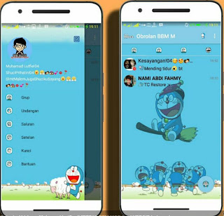 Download BBM MOD Doraemon V3.0.1.25