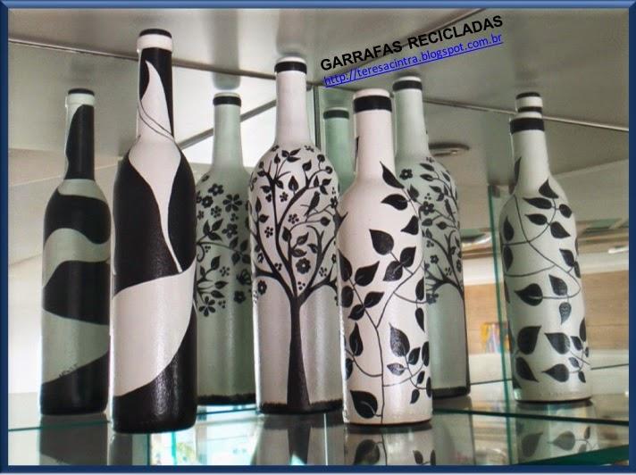 garrafas; decoração, reciclagem, pintura em garrafas; reaproveitamento; artes; reciclagem de garrafas; faça você mesmo; pintura em garrafa; garrafa fofa; artes com garrafas.lixo é luxo