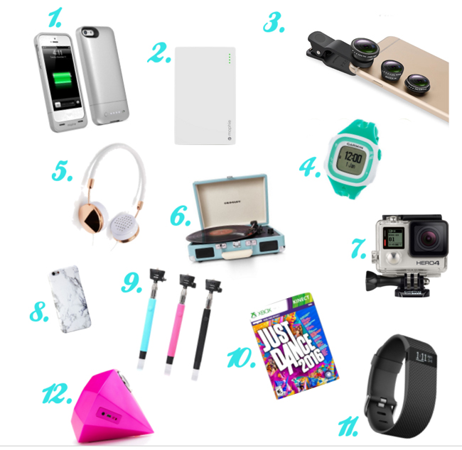 electronics gifts that teen girls will love overstuffedlife