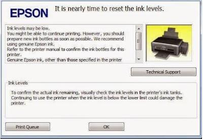 Cara Reset Manual Printer Epson L130 L110 L210 L300 L120 L310 Dengan Mudah
