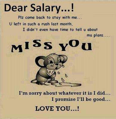Dear salary..