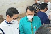 Kunjungi Kota Manado , Sekda Mickler Lakat dampingi Menkes dan   Menparekraf