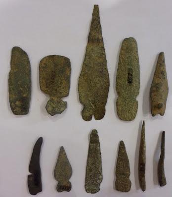 Resultado de imagen de cuchillo cobre prehistoria
