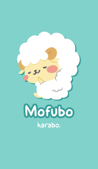 Mohubo of fluffy sheep
