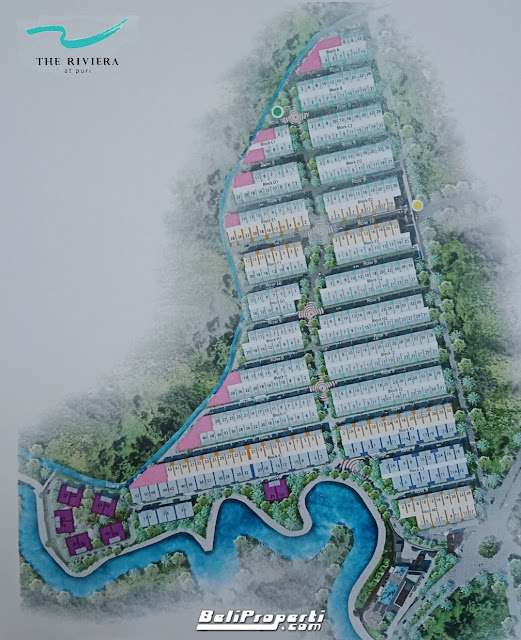siteplan the riviera at puri