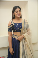 Niveda Thomas in Lovely Blue Cold Shoulder Ghagra Choli Transparent Chunni ~  Exclusive Celebrities Galleries 041.JPG