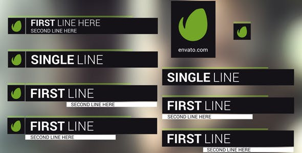 Ripple Lower Thirds[Videohive][After Effects][Element][11635973]