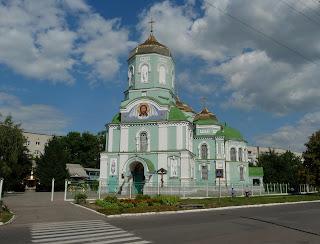 Золотоноша, Черкасская обл. Свято-Успенский собор.