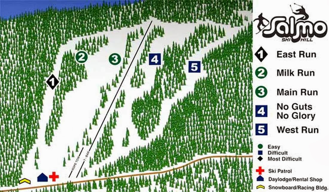 Salmo Ski Area, British Columbia - Where is the Best Place for Skiing And Snowboarding in Canada