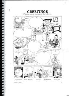 Los Saludos En Ingles Para Colorear Dibujo De Buenos Das Para