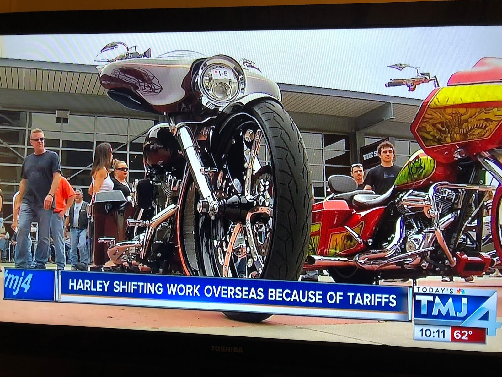 And A Real Steward Of Our Economy He D Stop Using Harley Davidson Motorcycles As Campaign Props Tell Donald Trump His Anti Wisconsin Policies