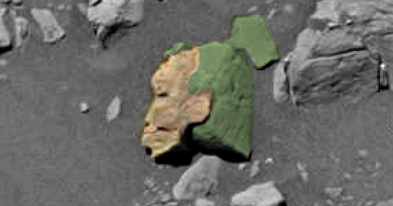 Ufo sightings daily alien face of woman carved in stone