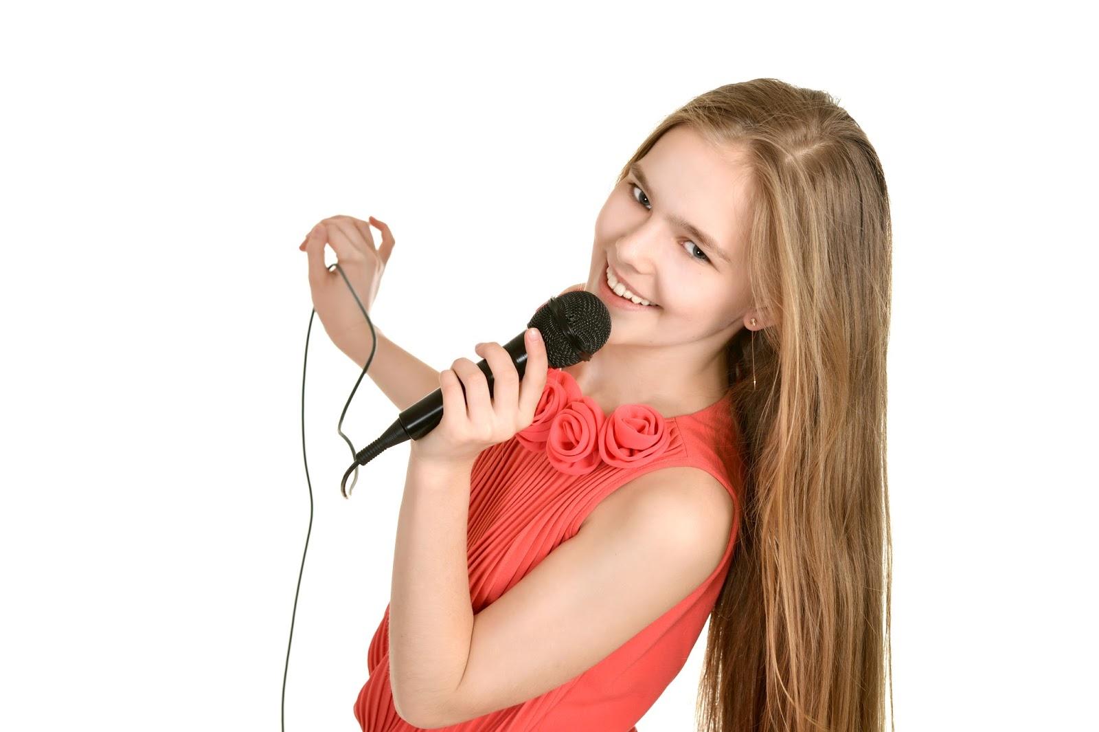 Картинка поющих девочек