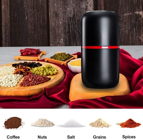 PARACITY Portable Electric Coffee Grinder