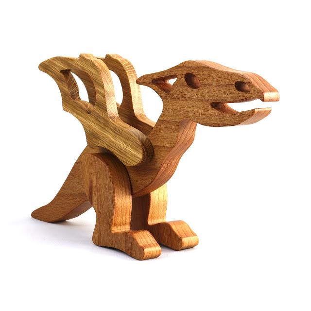 Handmade Woodentoy Dinosaur Pterodactyl
