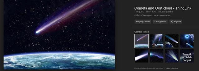 Fakta menarik tentang komet Yang dapat menambah Pengetahuan