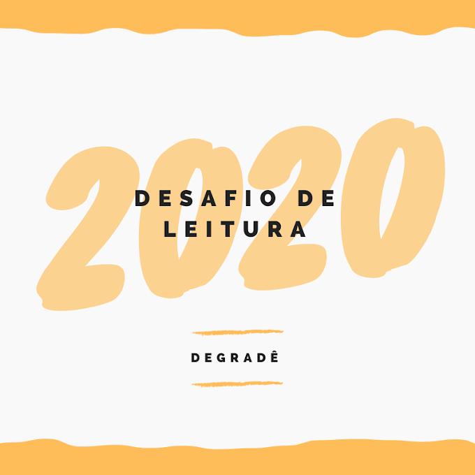Desafio de Leitura - 2020