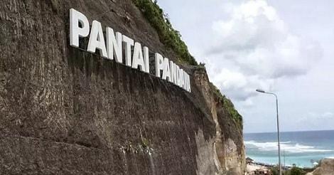 Salah satu spot Wisata Pantai Pandawa Bali