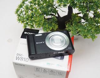 Sony DSC W810 - kamera digital Second
