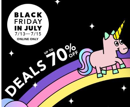 Forever 21 Black Friday in July Up To 70% Off
