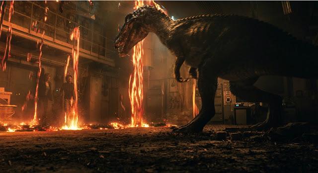 Les héros de Jurassic World 2 ne s'amusent pas, les responsables des effets spéciaux, si.