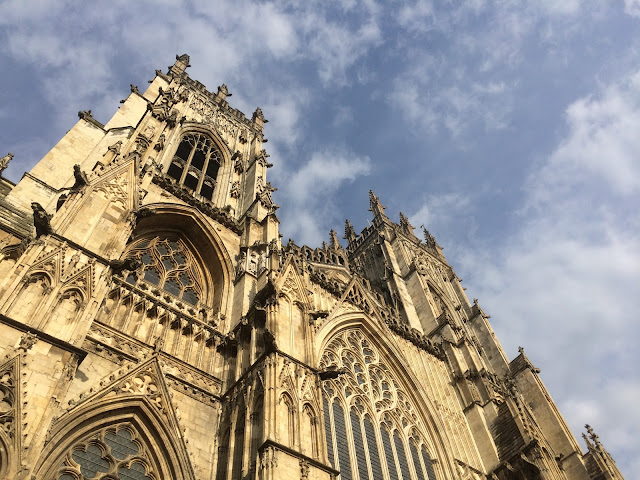 The front of York Minster