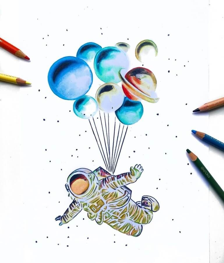 01-Spaceman-and-balloons-Réka-Gyányi-www-designstack-co