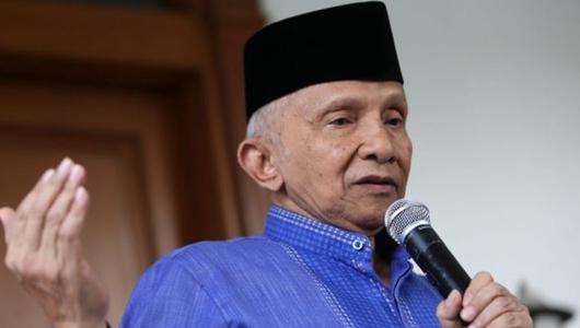 Amien Rais: Jangan Harap PAN Lolos DPR Jika Gabung Jokowi-Ma'ruf