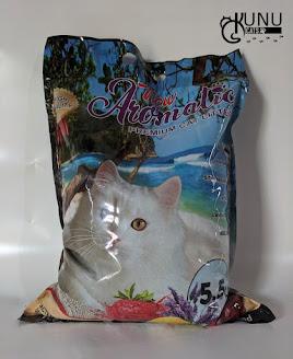 Merk Pasir Gumpal Kucing New Aromatic