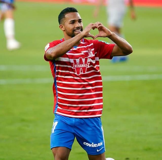 Yangel Herrera anotó el primer gol de la Temporada en España | Foto: Prensa Granada CF |