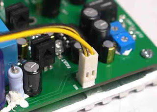 bias voltage is 12VDC + and -