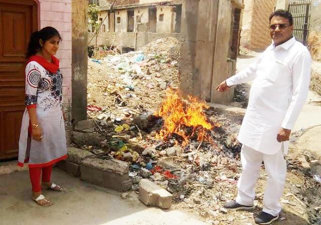 faridabad-mayor-suman-bala-inspection-ward-no-6-7
