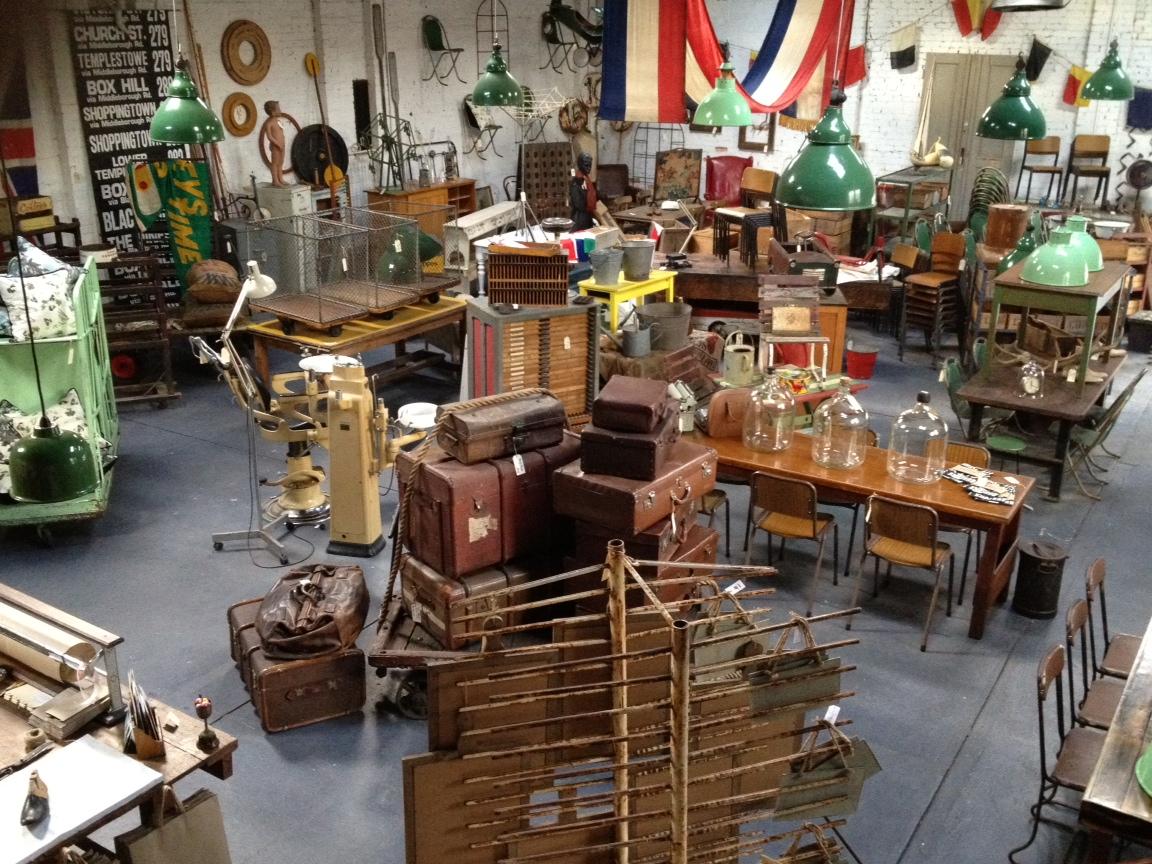 Nook Vintage Warehouse Open All Weekend
