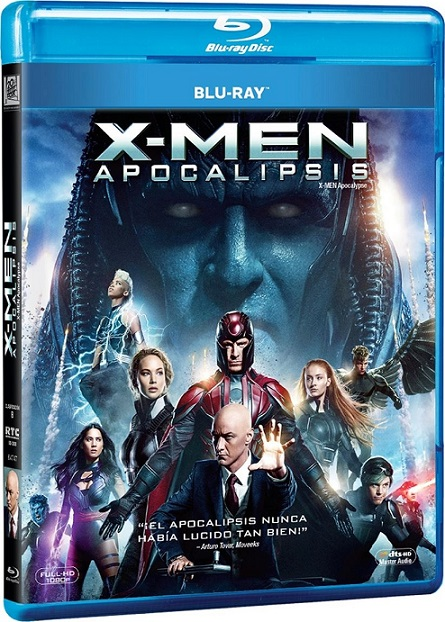 X-Men: Apocalypse (X-Men: Apocalipsis) (2016) 1080p BluRay REMUX 29GB mkv Dual Audio DTS-HD 7.1 ch