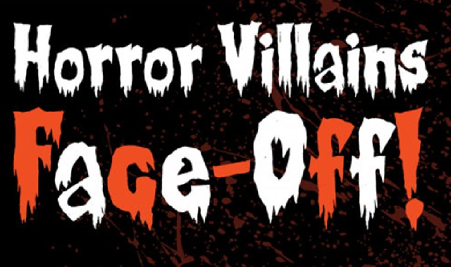 Horror Movie Villains Face-Off #infographic