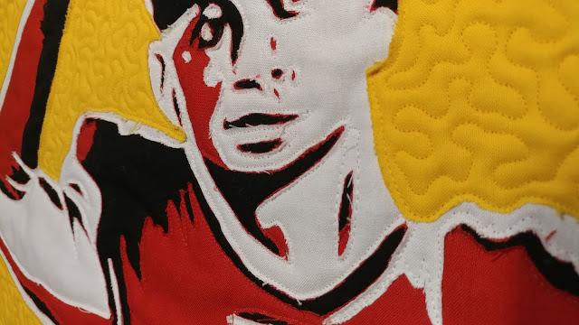 Chiefs quarterback Patrick Mahomes quilt