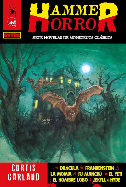 ¡NUEVO! Hammer Horror de Curtis Garland. 28 euros