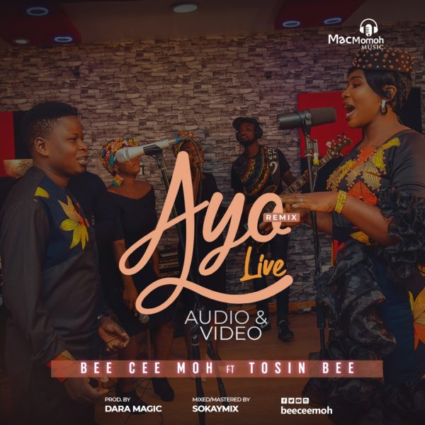 [Music + Video] Bee Cee Moh Ft. Tosin Bee – Ayo Remix (Live)