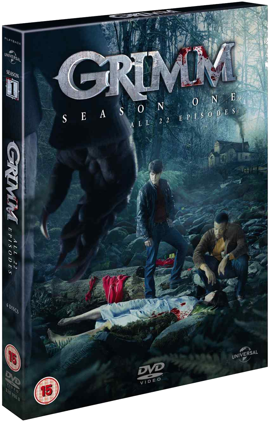 GRIMM Season 1 TV series dvd box set