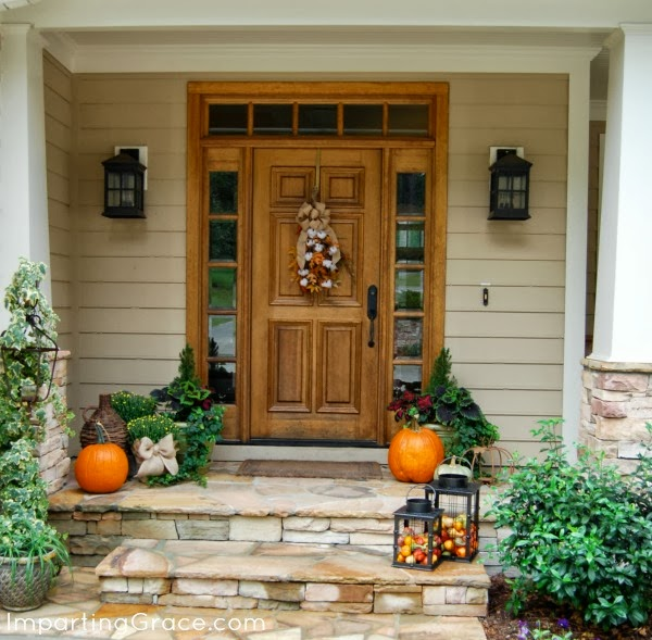 Fall Front Porch: Imparting Grace: An Autumn Front Porch