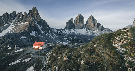 Mountain Huts and Churches in the Dolomites: Photos by Stef Kocyla